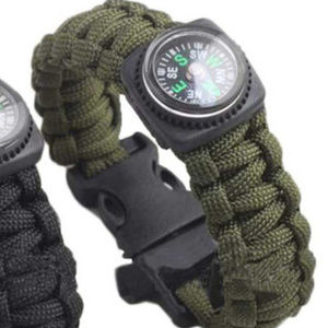 Other - New Green Rescue Parachute Cord Compass Bracelet